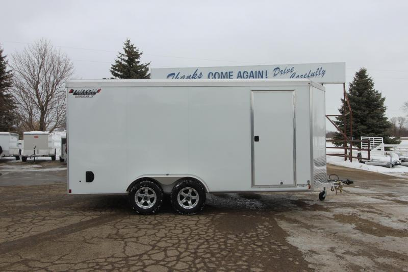 2020 Triton 7x16 Vault Enclosed Cargo Trailer