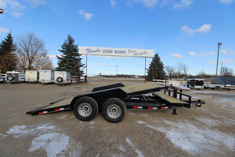 2020 Delco Trailers 18 Tilt bed Car / Racing Trailer