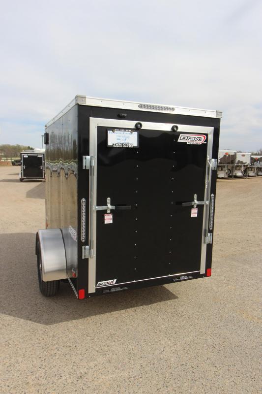 2020 Bravo Trailers 5x8 Enclosed Cargo Trailer