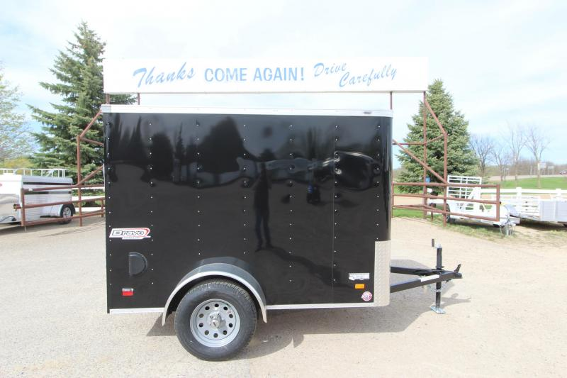 2020 Bravo Trailers 5x8 Enclosed Cargo Trailer