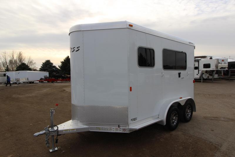 2016 Exiss Trailers 2HR Straight Load Horse Trailer