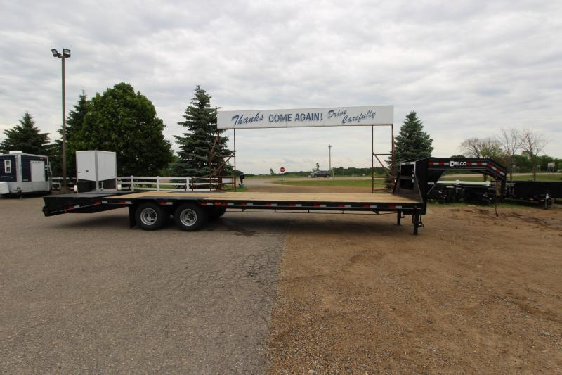 2019 Delco Trailers 27 5' Equipment Trailer