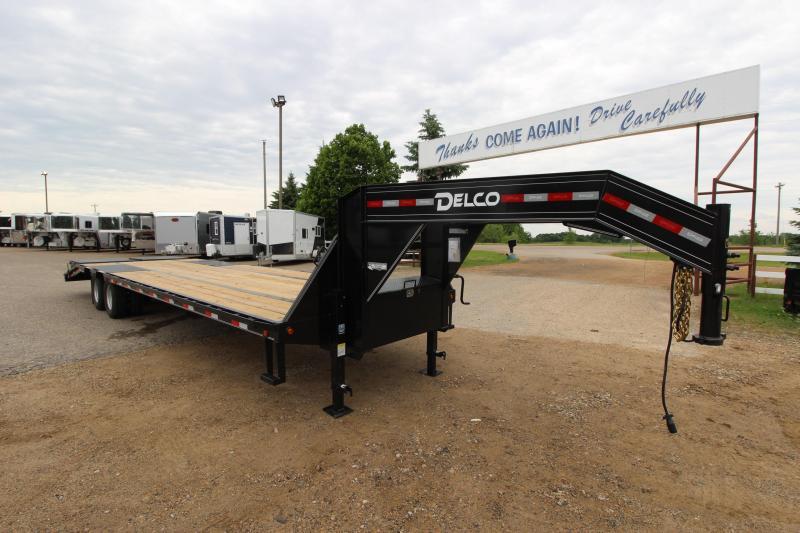 2019 Delco Trailers 27 5' Equipment Trailer