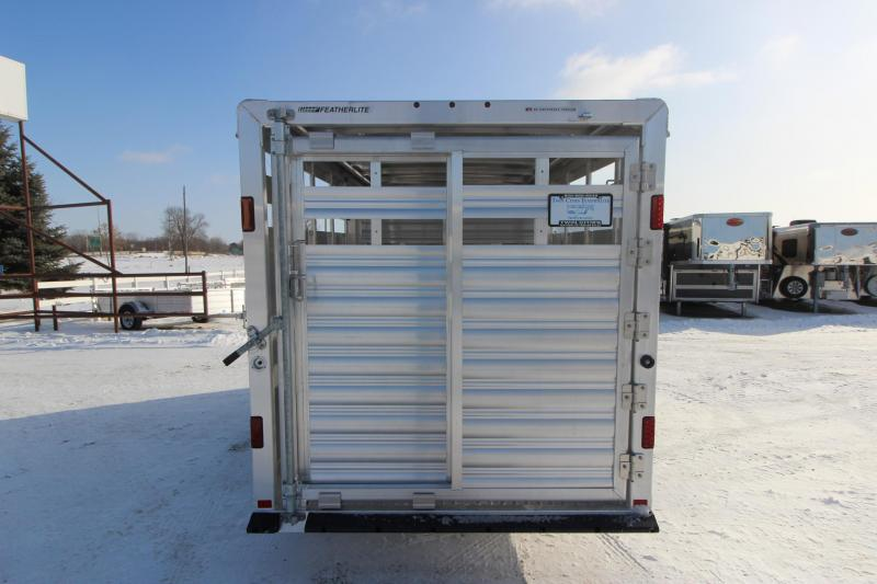 2020 Featherlite 8107 16' BP Livestock Trailer