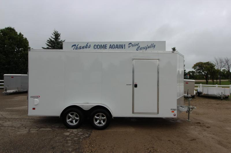 2019 Bravo Trailers 7x16 Aluminum Enclosed Cargo Trailer