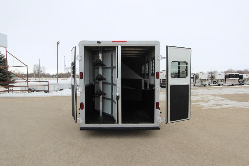 2012 Kiefer Built 3HR GN Horse Trailer