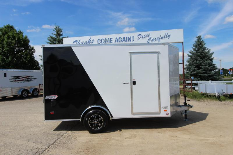 2019 Bravo Trailers 7x12 Enclosed Cargo Trailer