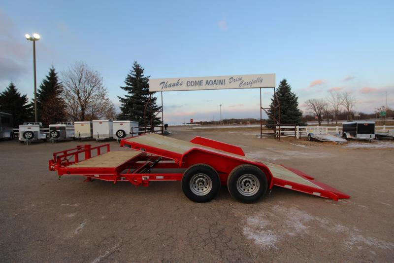2020 Delco Trailers 20 Tilt bed Car / Racing Trailer