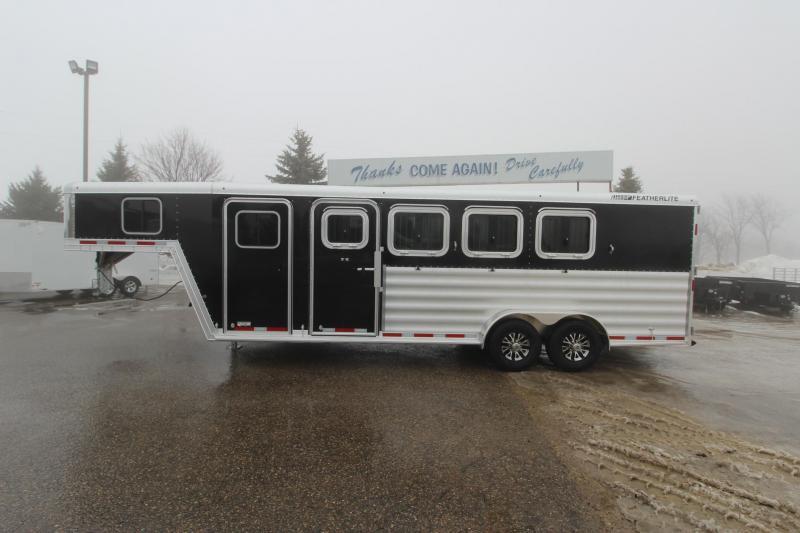 2019 Featherlite 8541 4HR GN Horse Trailer