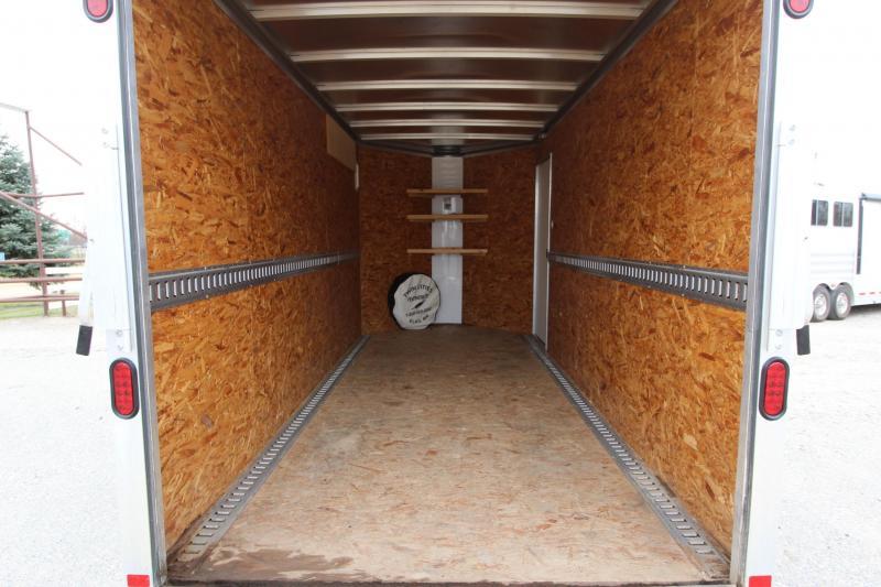 2011 Featherlite 1610 14 7 (H) Enclosed Cargo Trailer