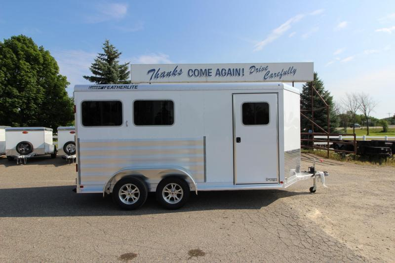"2020 Featherlite 9409 2HR 24"" D/R Horse Trailer"