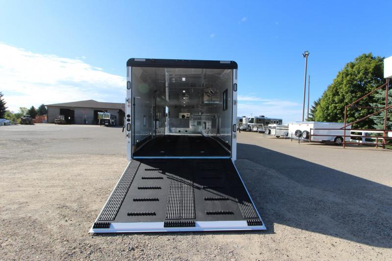 2020 Trails West Manufacturing RPM 34 Snowmobile Trailer