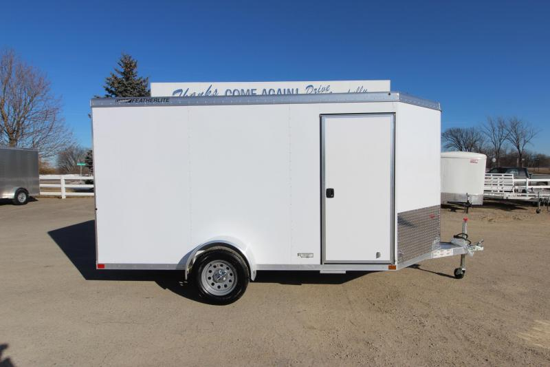 2019 Featherlite 1610 12 Enclosed Cargo Trailer