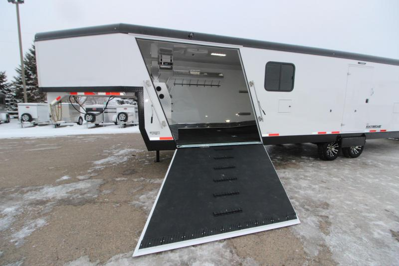 2020 Trails West Manufacturing 28' RPM GN Snowmobile Trailer