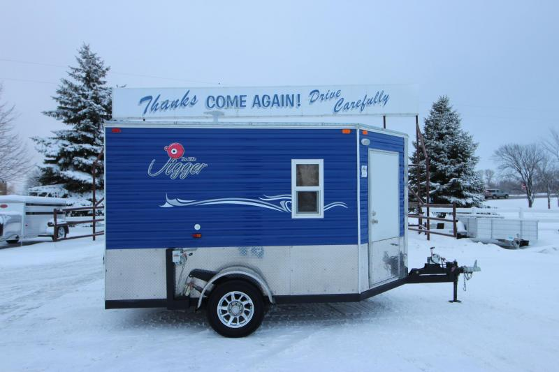2018 Ice Castle Lil Jigger 6.5x10 Ice/Fish House Trailer