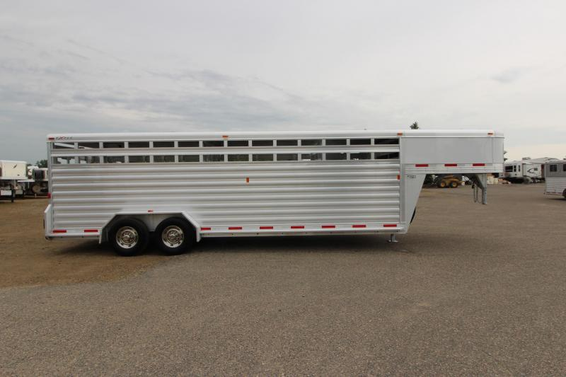 2016 Exiss Trailers 24 Livestock Trailer