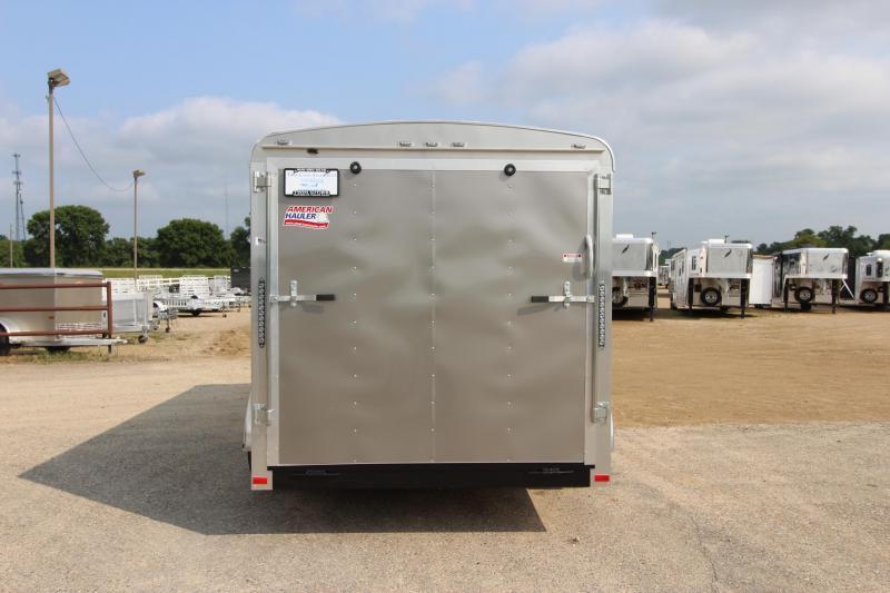 2019 American Hauler Industries Air Lite 7x14 Enclosed Cargo Trailer