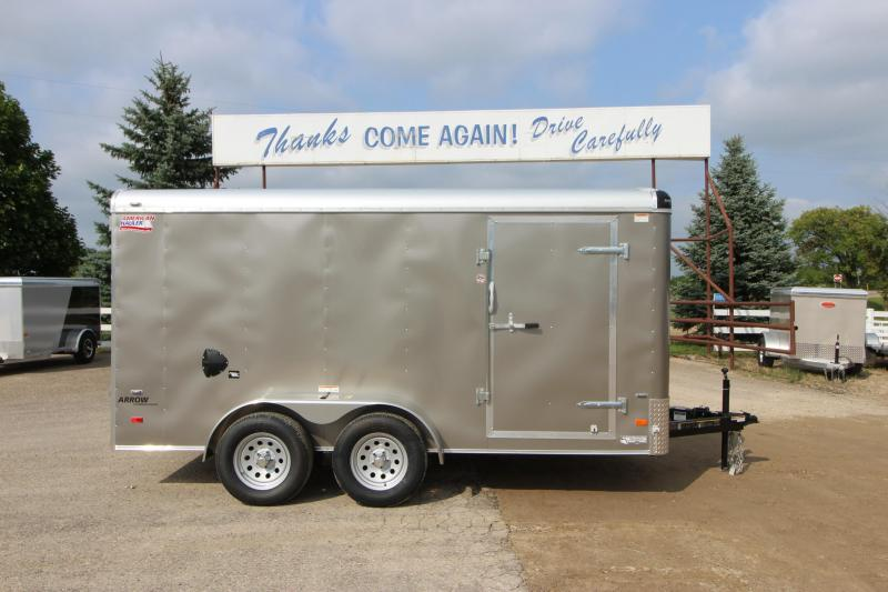 2019 American Hauler Industries Air Lite 7x14 Enclosed Cargo Trailer