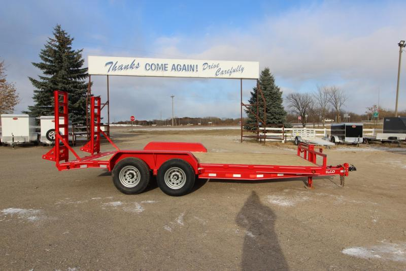 2020 Delco Trailers 18 Car / Racing Trailer