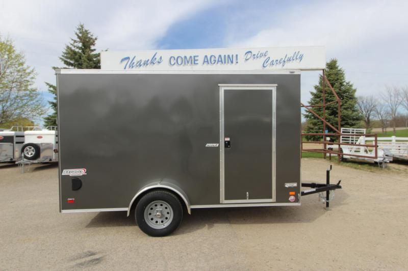 2020 Bravo Trailers 6x12 Enclosed Cargo Trailer