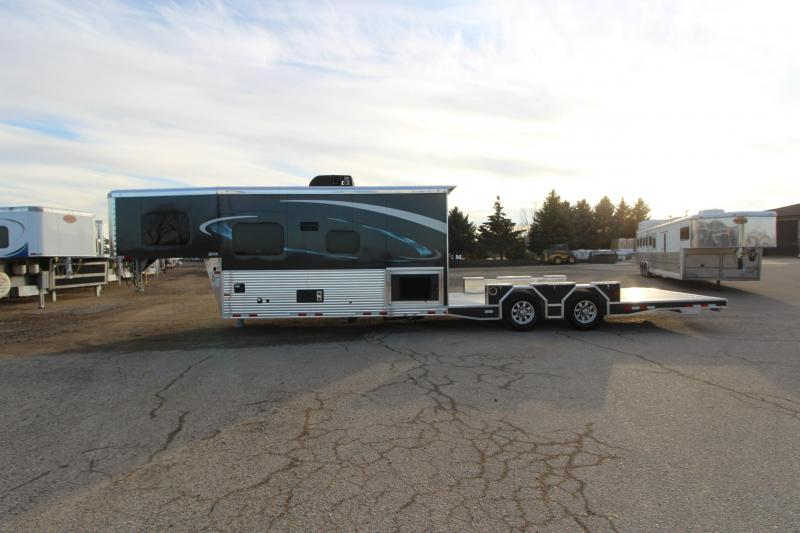 2020 Sundowner Trailers Other (Not Listed) 32' Open Back 14' LQ Toy Hauler RV