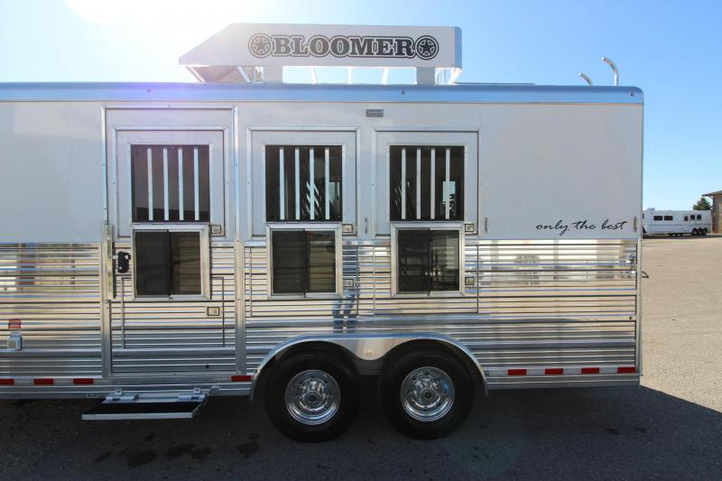 2020 Bloomer 3HR 11 LQ Horse Trailer