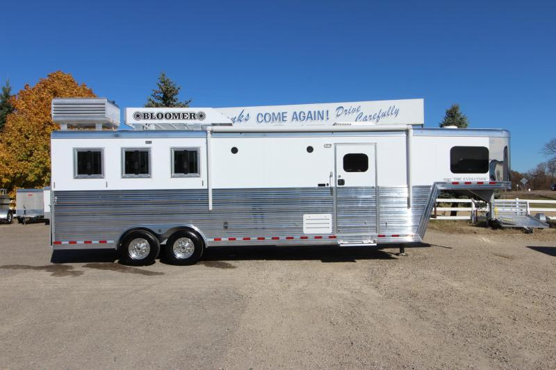 2020 Bloomer 3HR 11 LQ Horse Trailer