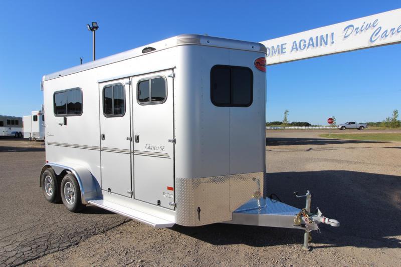 2020 Sundowner Trailers Charter 2HR BP Horse Trailer