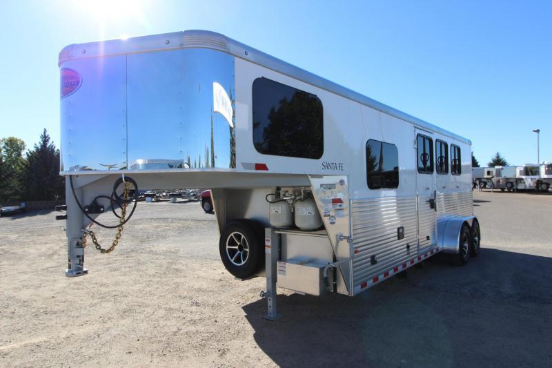 2019 Sundowner Trailers 3HR 6 LQ Horse Trailer