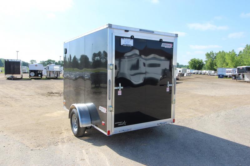 2020 Bravo Trailers 6x10 Aluminum Enclosed Cargo Trailer