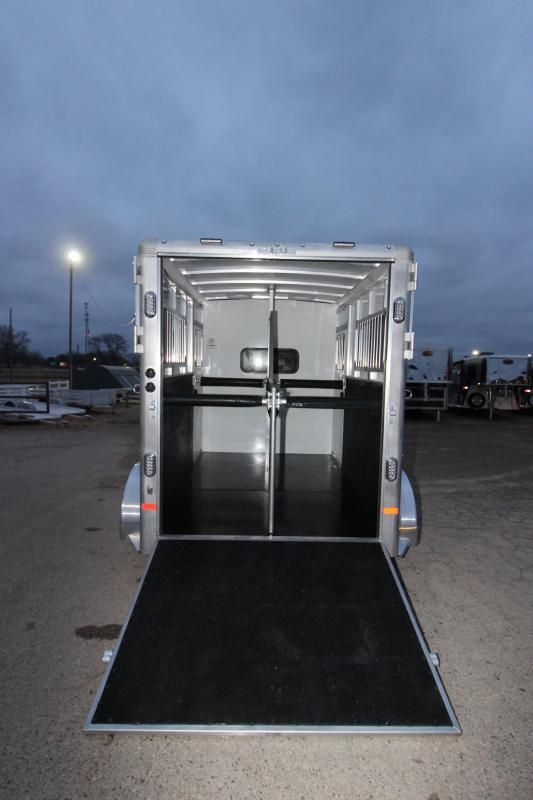 2020 Sundowner Trailers 2HR Charter BP Horse Trailer