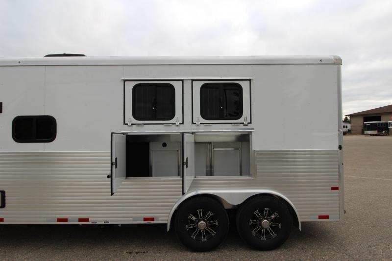 2020 Sundowner Trailers 2HR GN Horizon 8011 RS Horse Trailer