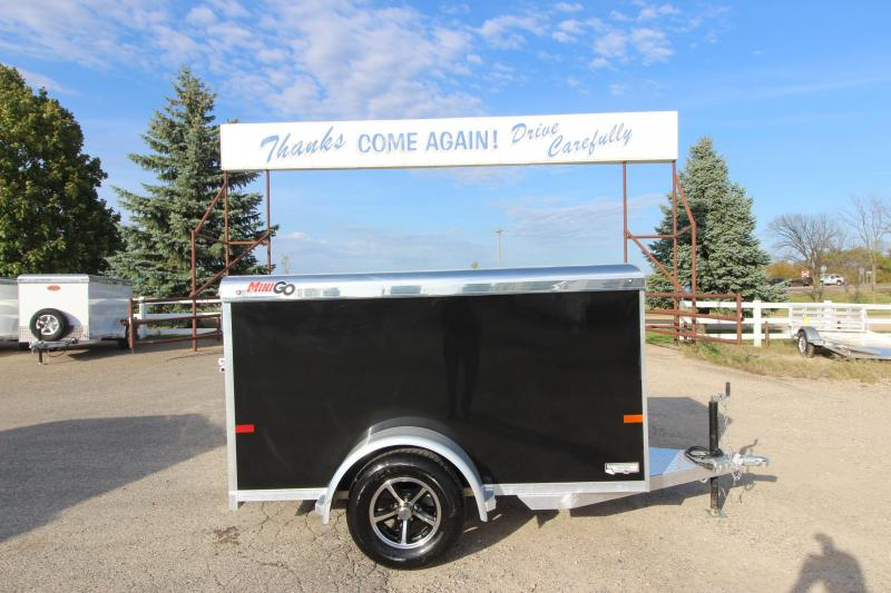 2019 Sundowner Trailers Mini-Go 4x8 Enclosed Cargo Trailer