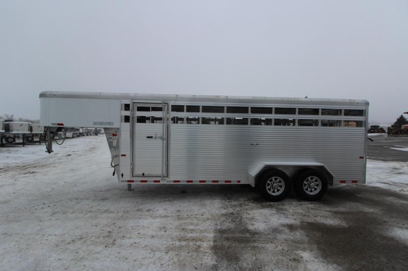2019 Sundowner Trailers 20 GN Livestock Trailer