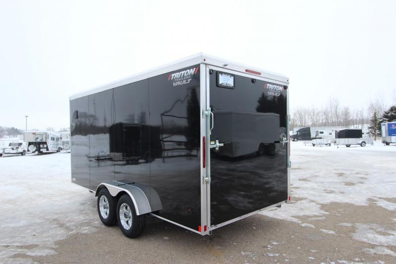 2020 Triton 7x16 Vault Enclosed Cargo Trailer
