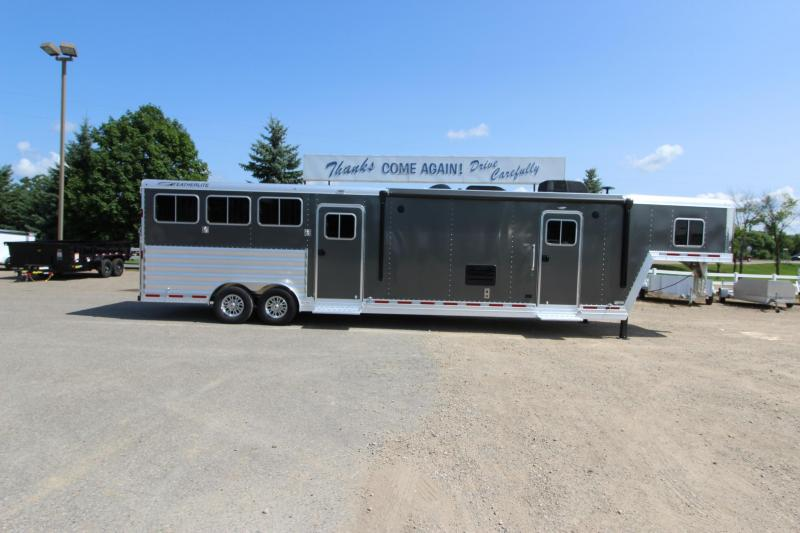 2018 Featherlite 3HR 13 LQ MT Horse Trailer