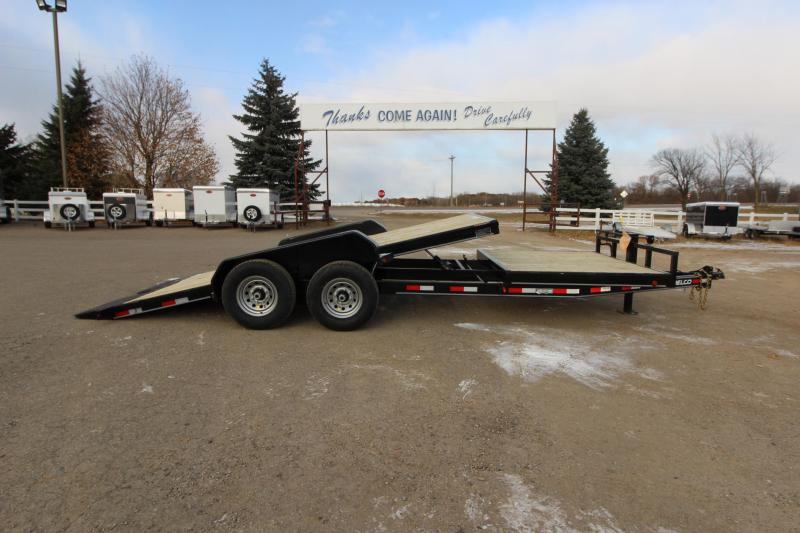 2020 Delco Trailers 22 Tilt bed Car / Racing Trailer