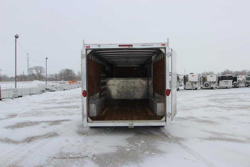2007 Featherlite 1530 16' Enclosed Cargo Trailer