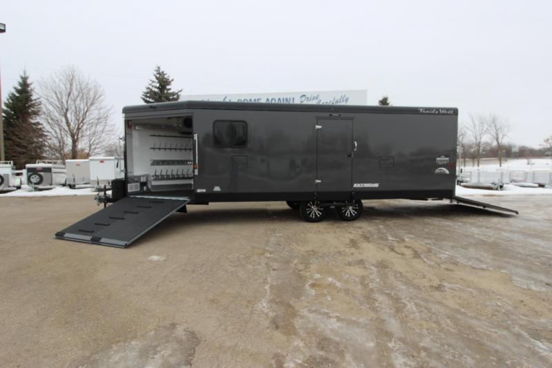 2020 Trails West Manufacturing RPM 28' Snowmobile Trailer