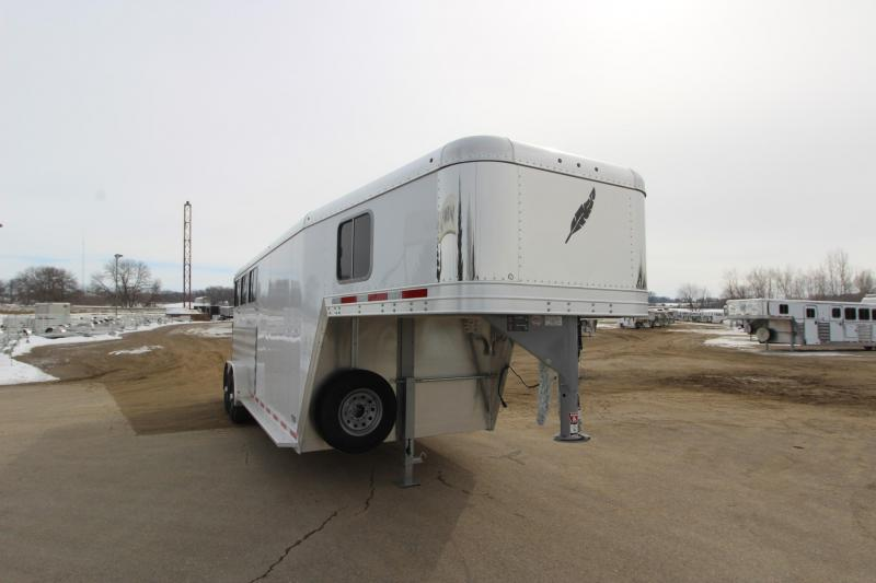 2018 Featherlite 8541 3HR GN Horse Trailer