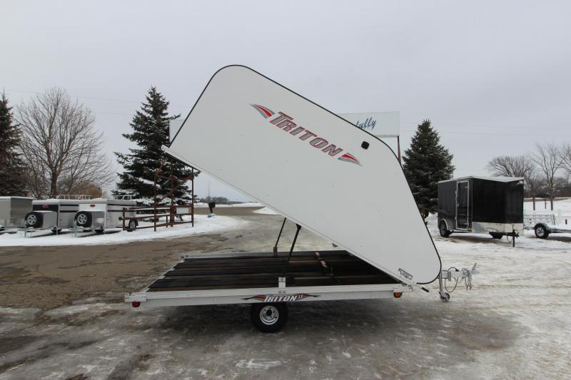 2006 Triton TC 8.5x10 Snowmobile Trailer