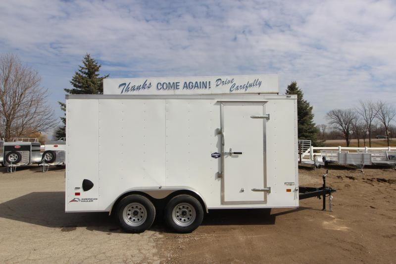 2020 American Hauler Arrow 7X14 Enclosed Cargo Trailer
