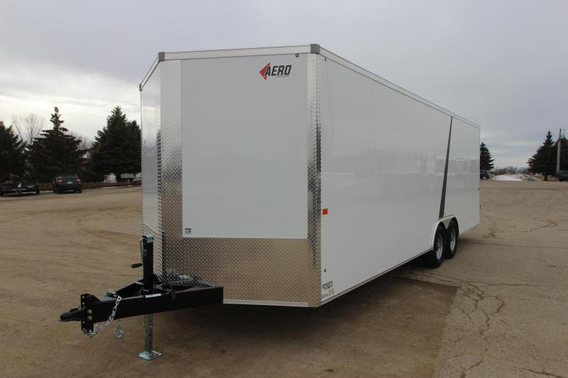2020 AERO 8.5 x 24 BP Car / Racing Trailer