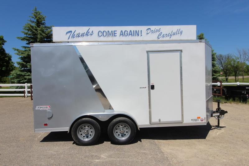2020 Bravo Trailers 7x14 Scout BP Enclosed Cargo Trailer