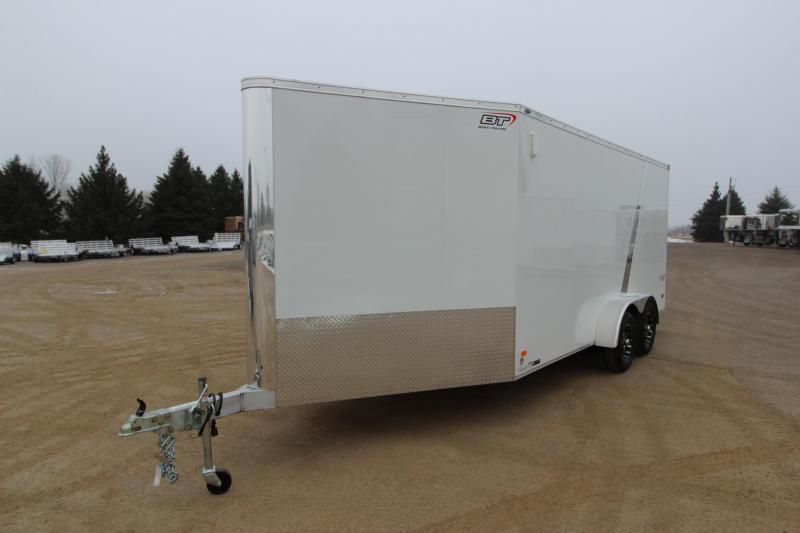 2019 Bravo Trailers Silver Star 7x16 Snowmobile Trailer