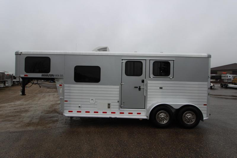 2014 Sundowner Trailers 2HR GN 6 LQ Horse Trailer