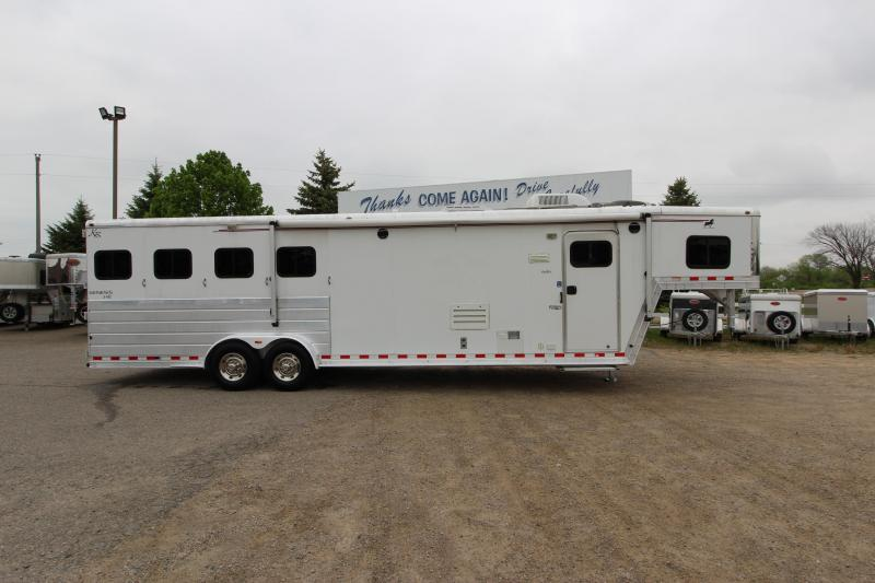 2004 Kiefer Built 4HR 11' LQ Horse Trailer