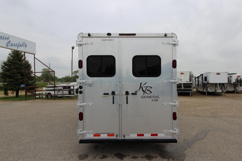 2004 Kiefer Built 4HR 11' LQ Horse Trailer