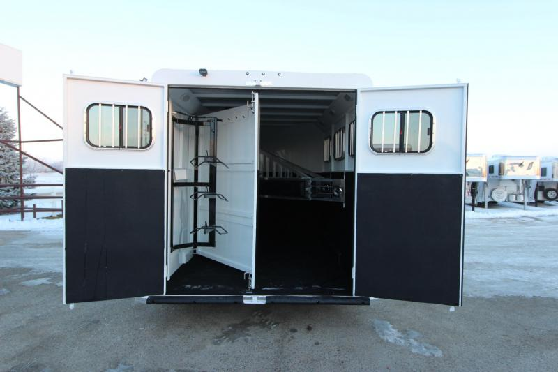 2019 Trails West Manufacturing Classic II 3HR BP Horse Trailer