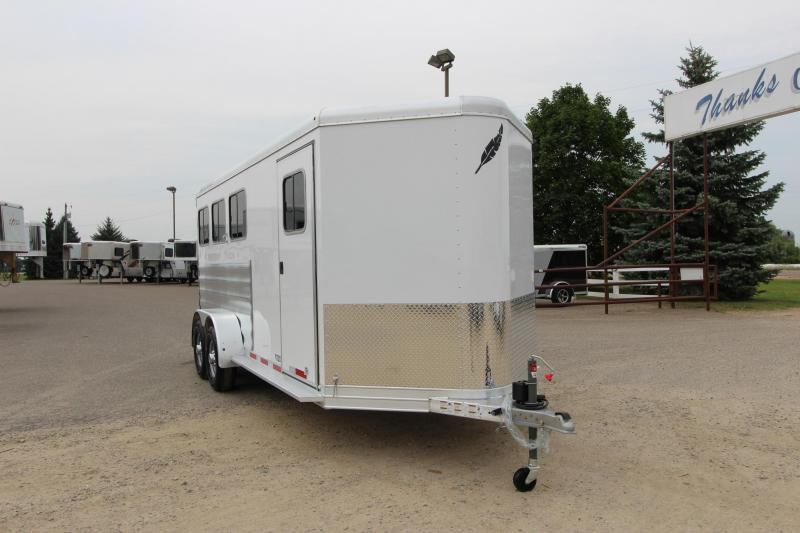 2019 Featherlite 9409 3HR BP Horse Trailer